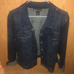 Lane Bryant jean jacket